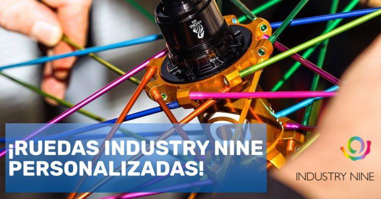 ¡Ruedas Industry Nine personalizadas!